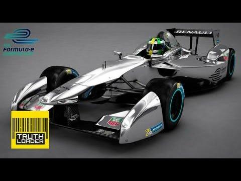 Электрический болид для Formula-E - Renault