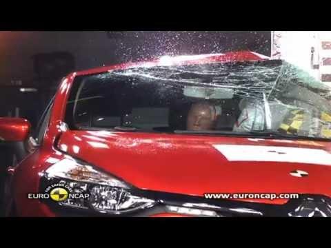 Euro NCAP   Renault Clio  2012   Crash test