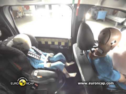 Euro NCAP   Dacia Lodgy   2012   Crash test