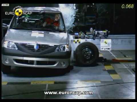 Euro NCAP   Dacia Logan\Renault Logan   2005   Crash test