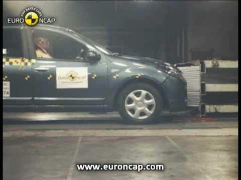 Euro NCAP   Dacia Sandero   2008   Crash test