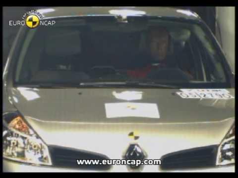 Euro NCAP   Renault Clio   2005   Crash test