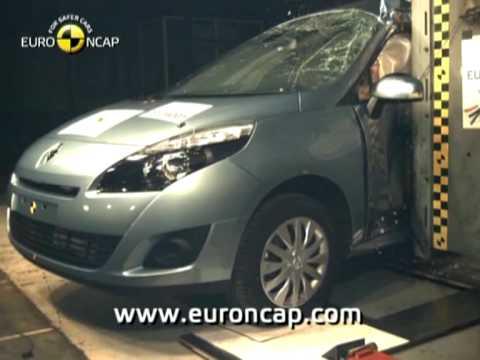 Euro NCAP   Renault Grand Scenic   2009   Crash test