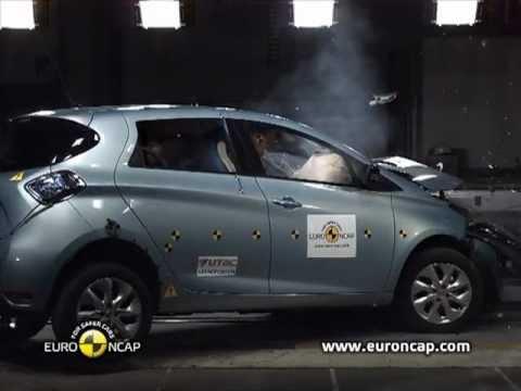 Euro NCAP   Renault ZOE   2013   Crash test