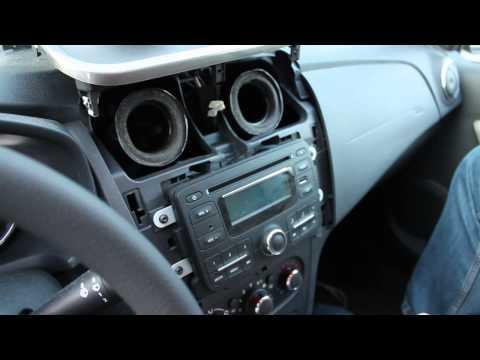 Снятие магнитолы на Renault/Dacia Logan 2/ Sandero 2 / Lodgy und Dokker