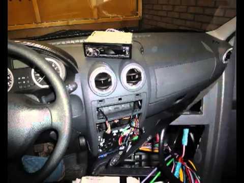 Установка 2 din магнитолы в Renault Logan