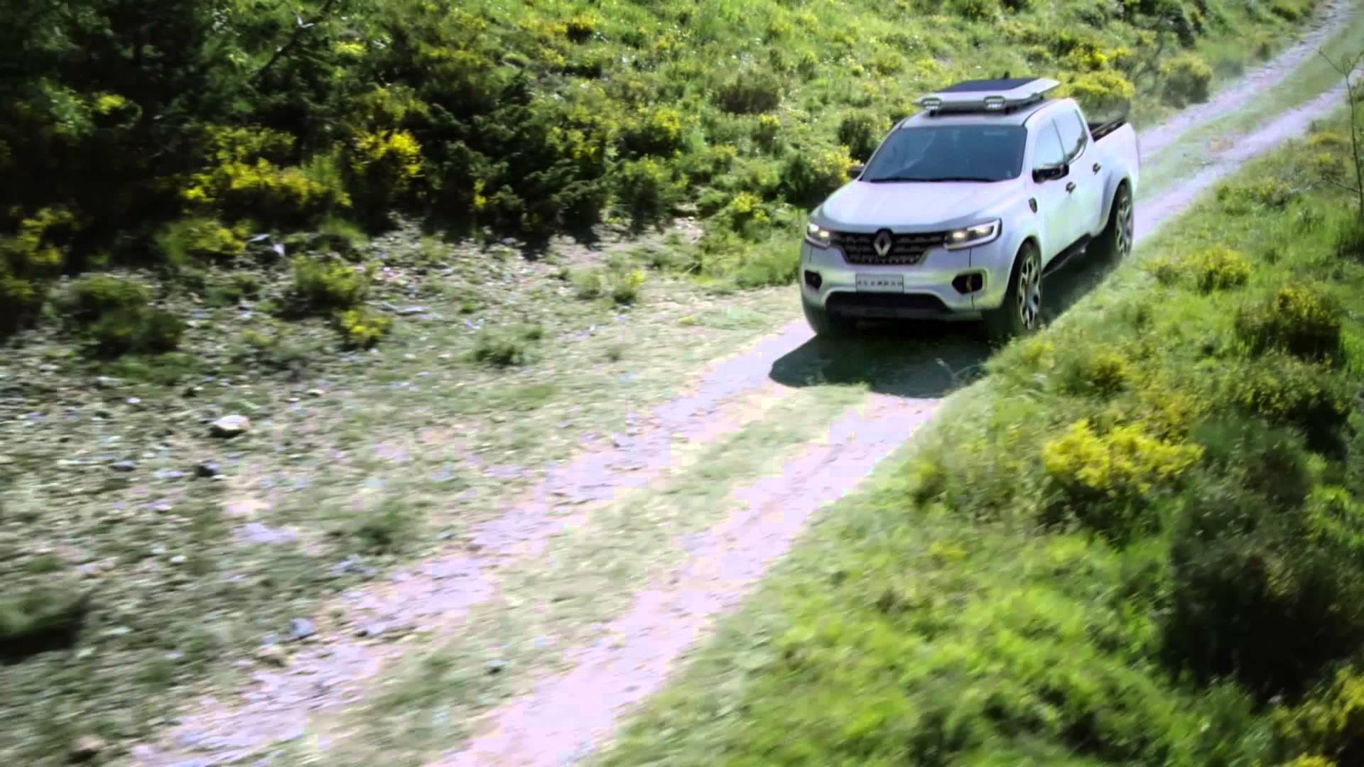 Renault ALASKAN - новый концептуальный пикап