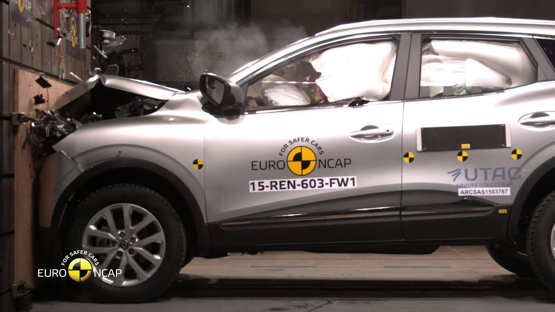 Euro NCAP   Renault Kadjar 2015   Краш-тест