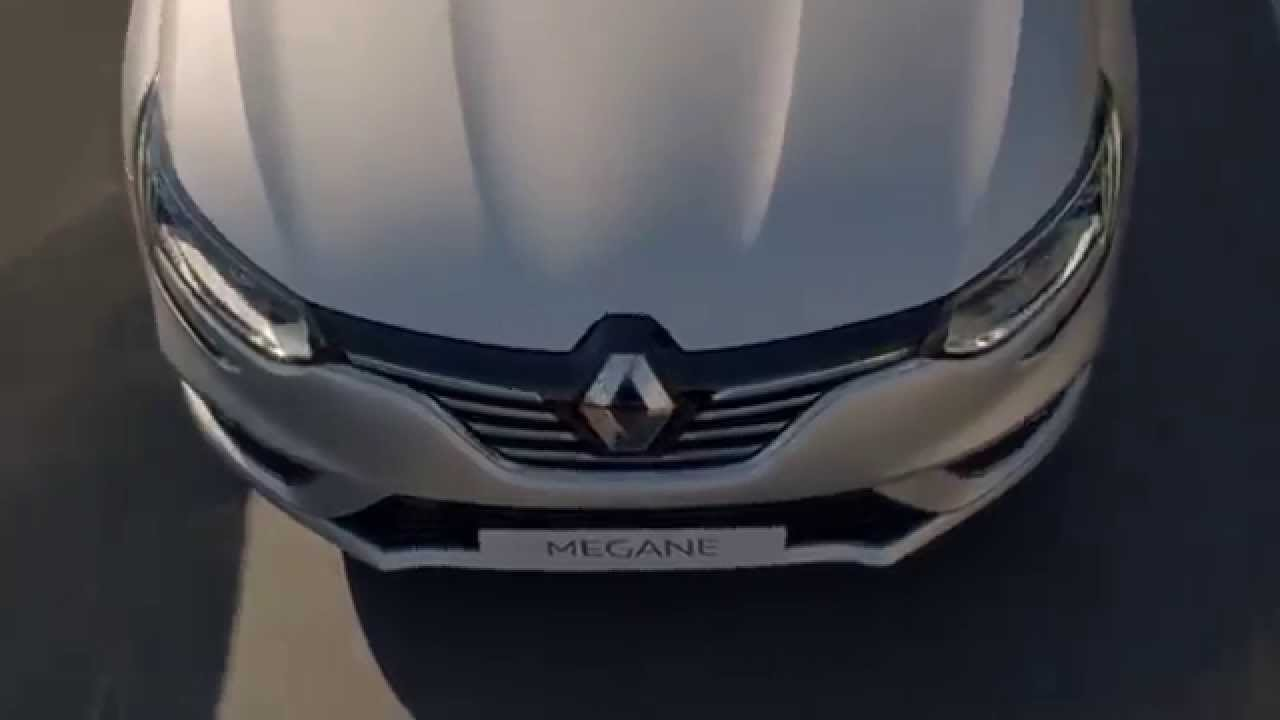 New Renault Megane 2016. Первое видео нового Меган.