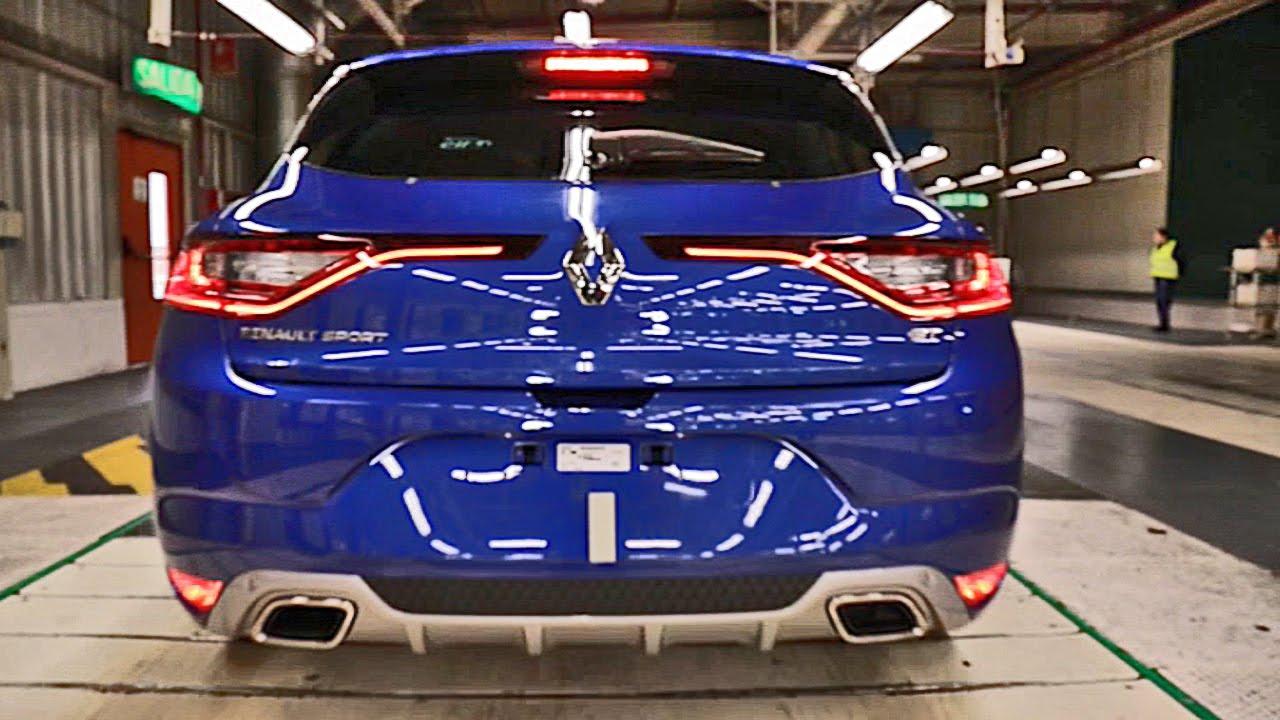 Renault Megane 4 - сборка на конвейере